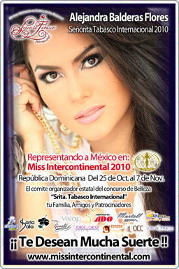 Miss Atlantico intercontinental 2010
